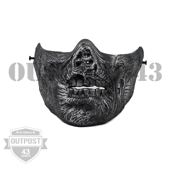 OP43 Zombie Airsoft HALF Mask