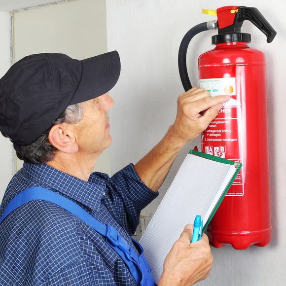 check fire extinguisher dates