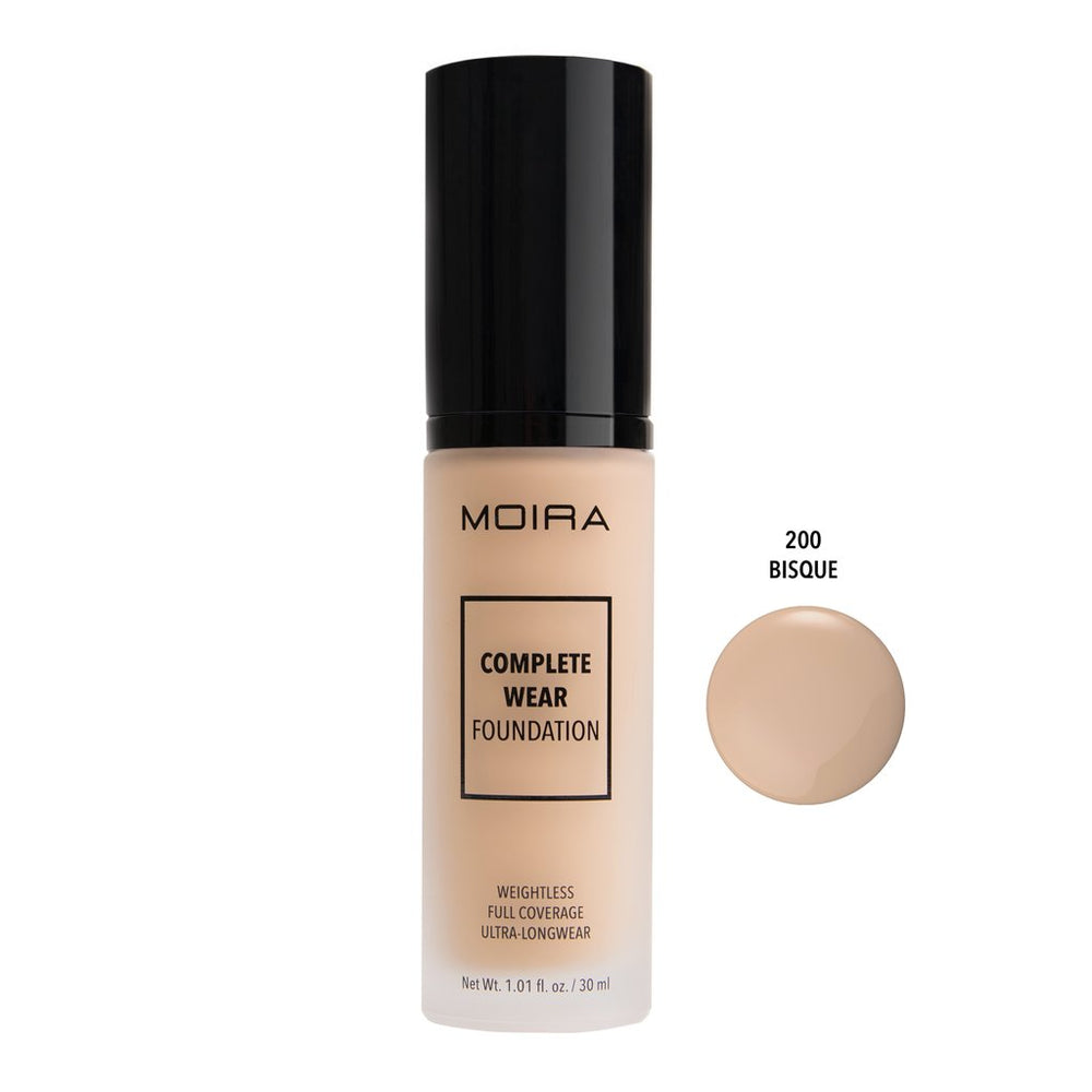 Moira Cosmetics - Complete Wear Foundation - Bisque