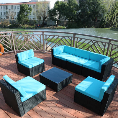 7 Piece Outdoor Furniture Set - mhyplace