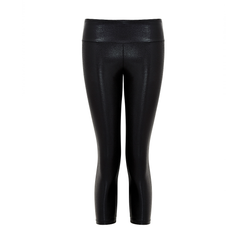 Suki Leatherback 7/8 Leggings in Black