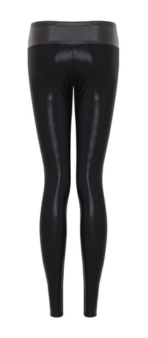 Suki Leatherback Long Leggings in Black by SukiShufu