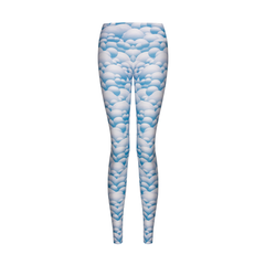 Suki Leatherback Long Leggings in Blue MountainSuki Leatherback Long Leggings in Blue Mountain
