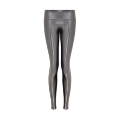 Suki Leatherback Long Leggings in Chrome by SukiShufu