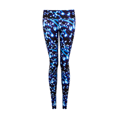 Suki Leatherback Long Leggings in Shooting Star