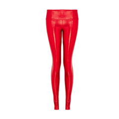 Suki Leatherback Long Leggings in Cherry Gloss by SukiShufu