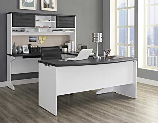 4 Piece Modern U-Shaped Office Desk by Altra Furniture