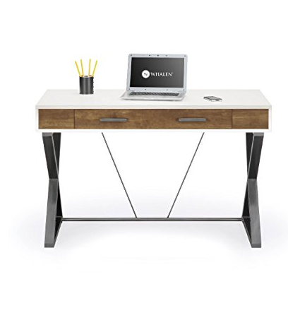 Contemporary Computer Workstation Desk by Whalen Furniture