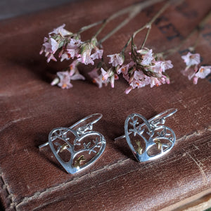 Rabbit Earrings [Rabbit with Tree] | Everything Bunny Rabbit - Everything Bunny Rabbit