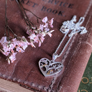 Rabbit Necklace [Rabbit with Tree] | Everything Bunny Rabbit - Everything Bunny Rabbit