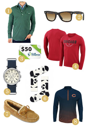 Holiday Gift Guide for Men