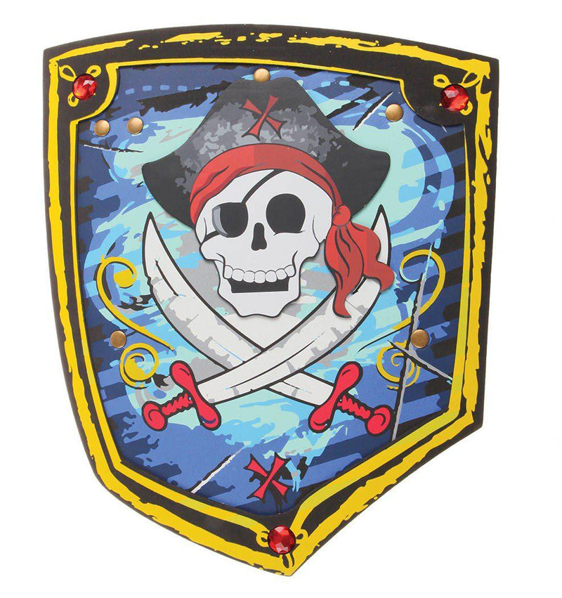 Pirate Shield, Black/Blue EVA