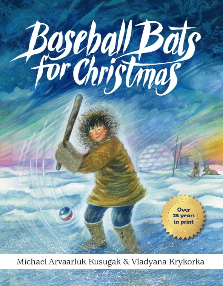 Book/Baseball Bats For Christm