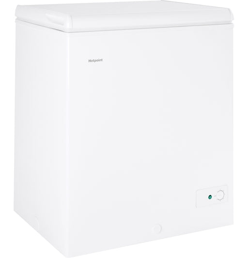Hotpoint® 5.1 Cu. Ft. Manual Defrost Chest Freezer, HCM5SMWW