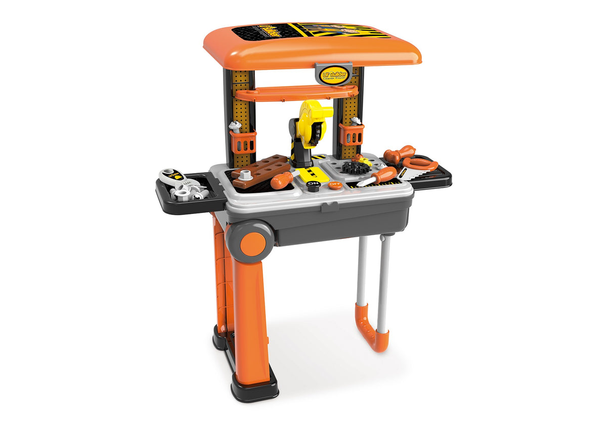 Lil Builder Mobile Suitcase Playset