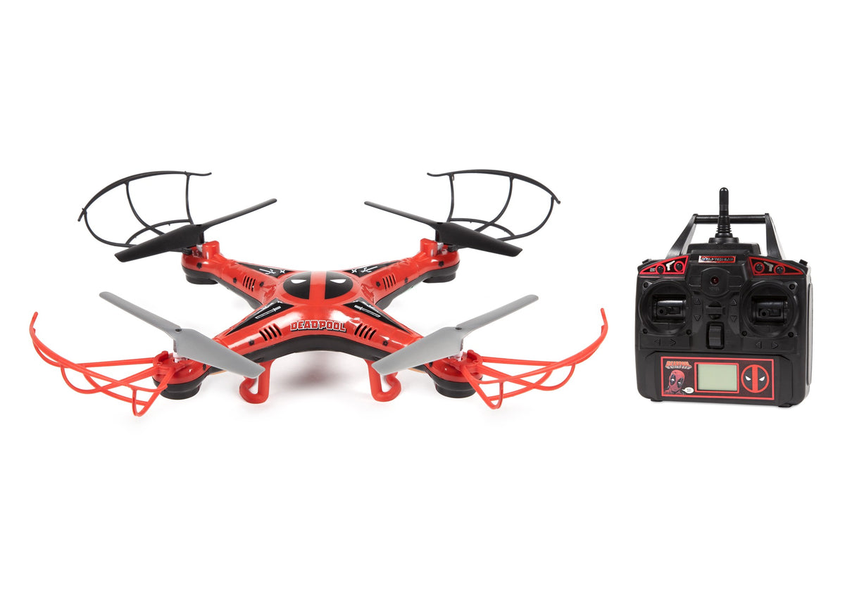 Marvel Licensed Deadpool 2.4GHz 4.5CH RC Drone
