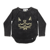 KaPow Kids Tiger Placement Long Sleeve Tee - Annie and Islabean