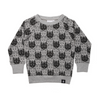 KaPow Kids Wolf Camo Sweater - Annie and Islabean