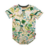 Kip & Co Birds Of Paradise Organic Short Sleeve Romper - Annie and Islabean