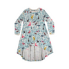 Paper Wings Forest Hi Lo Jersey Dress