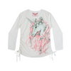 Paper Wings Winter Unicorn Drawstring Tee