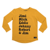 Rock Your Baby Rock Heroes Long Sleeve T-Shirt