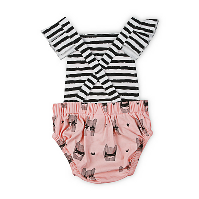 KaPow Kids Super Girl Baby Playsuit - Annie and Islabean