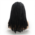 Rechoo Bob Twist Baid Synthetic Lace Front Wigs
