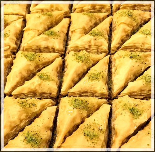 Traditional Rosewater Baklava