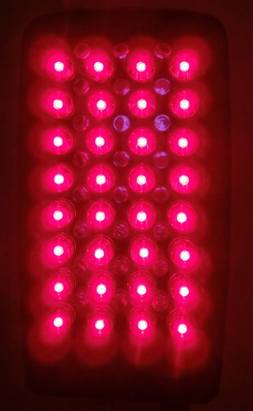 LED High Power Dual Array Red/Near-InfraRed 660/850 nanometers