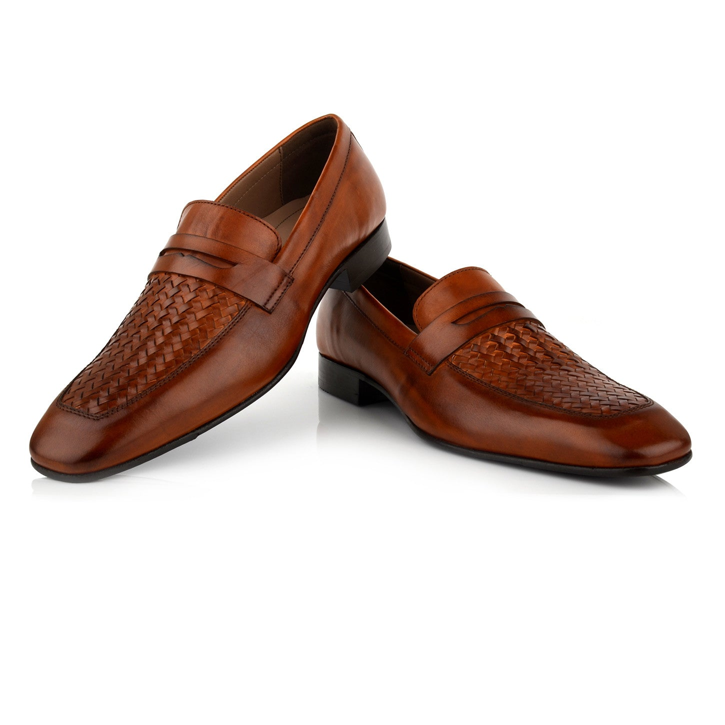 LM510 - Language Grata Men's Dress Tan Loafers