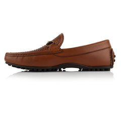LM592 - Language Goya Men's Casuals Tan Drivers