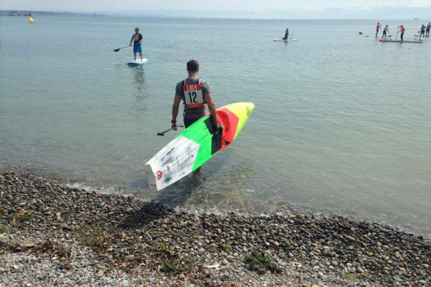 ALEXANDER STERTZIK BOOSTS HIS WAY TO THE SUP CUP!