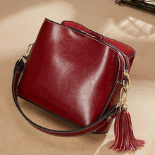Genuine Leather Designer Handbags For Women-Handbag-Online GMall-wine red-China-Online GMall