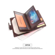Genuine Leather Passport Holder-Wallet-Online GMall-Black-China-Online GMall