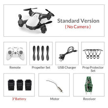 Mini Drone With Camera-Drones-Online GMall-whitestandard3batter-China-Online GMall