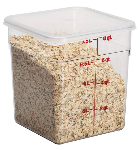 Cambro Containers Food Storage 7.6 liters - Camsquare 6 per pack 8SFSCW135