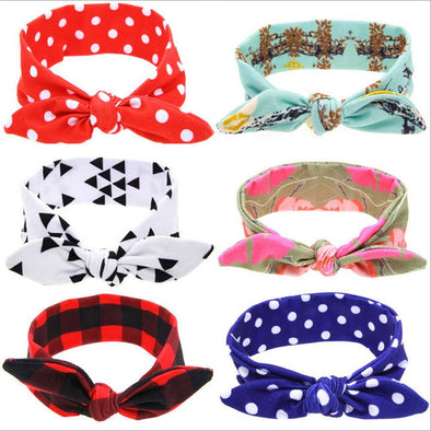 Cute Patterned Baby Headbands-headbands-Lavendersun
