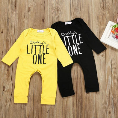 Daddy's Little One Romper-romper-Lavendersun