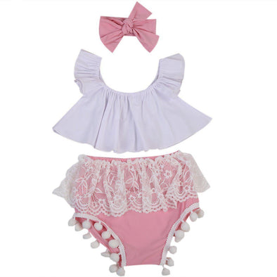 Old School Girl 3 Piece Set-outfit-Lavendersun