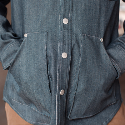 Kaihara Denim Work Shirt