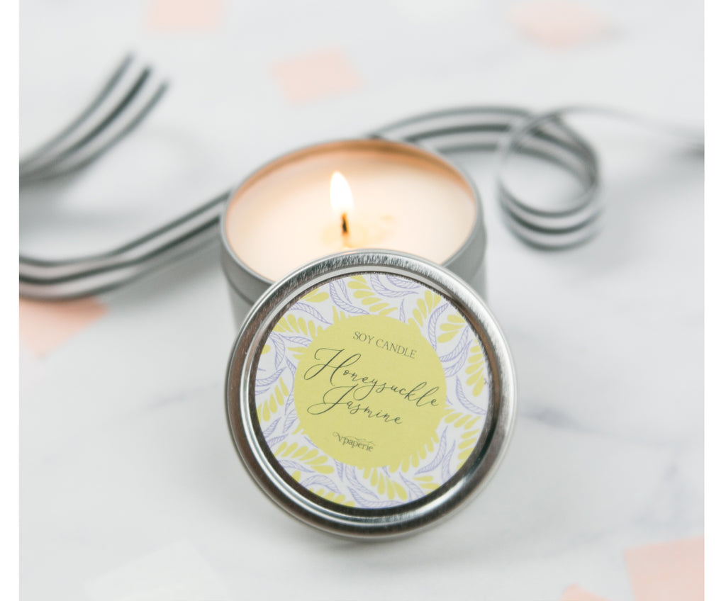 Honeysuckle Jasmine Candle