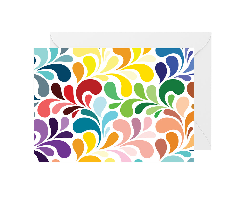 Blank Colorful Card