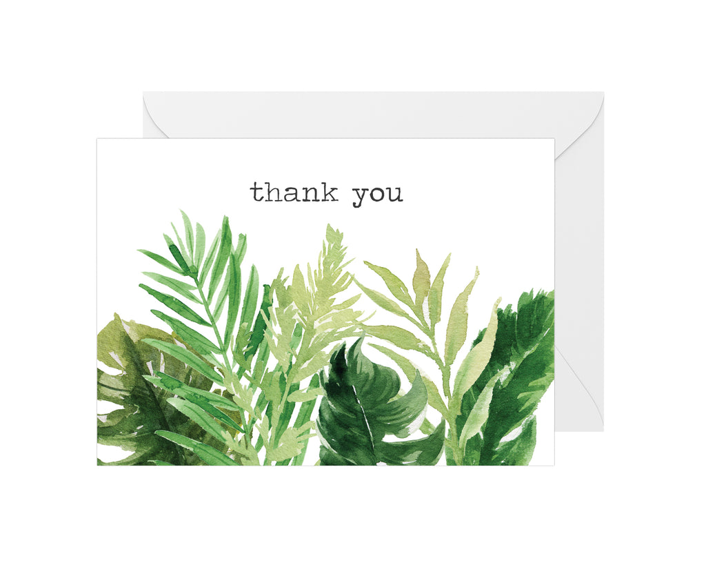 Thanks Greenery Card