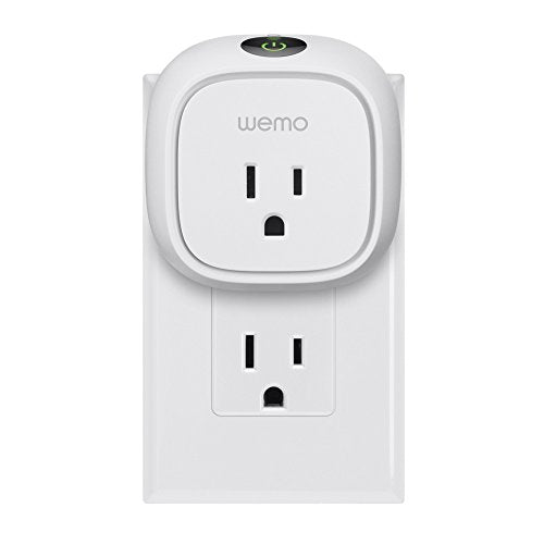 Wemo Insight Smart Plug with Energy Monitoring, Wi-Fi Enabled, Control Your Devices and Manage Energy Costs From Anywhere, Works with Alexa and Google Assistant - Farmer Brad LLC