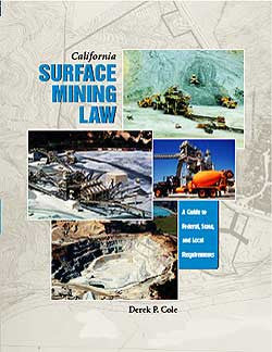 California Surface Mining Law