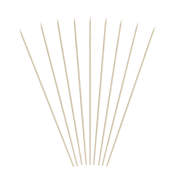 6 inch Bamboo Skewers (12/16/100)