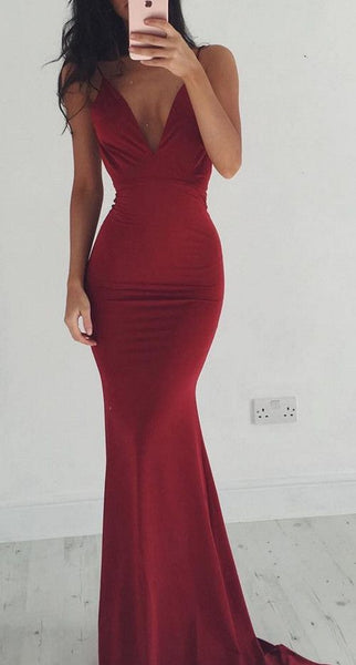 Sex Simple Mermaid Long Prom Dress,Fashion Wedding Party Dress,Popular Cocktail Dress,Fashion Evening Dress PDS0368