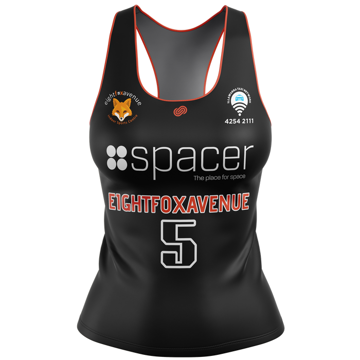 eightfoxavenue Womens Playing / Training Singlet