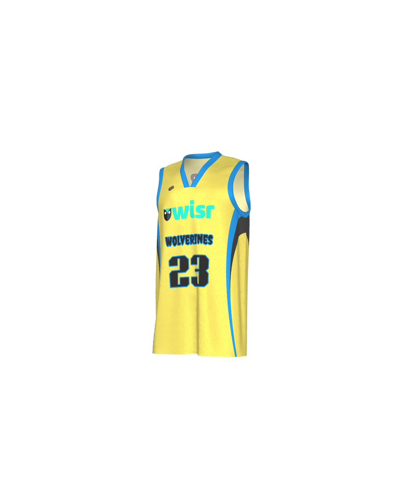 BC Wolverines Reversible Basketball Jersey